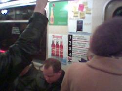 Рекламная кампания соусов ТМ Папричи в московском метрополитене